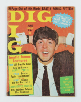 """Vintage 1964 """"Dig"""" Magazine with Paul McCartney Cover (See Description) at PristineAuction.com"""