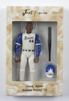 "Hank Aaron Just Figures 1974 Atlanta Braves 7"" Figurine at PristineAuction.com"