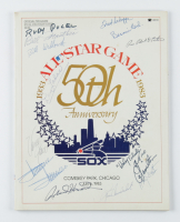1983 MLB All-Star Game Program Signed by (13) with Minnie Minoso, Roland Hermond, Milo Hamilton (Sportscards.com LOA) (See Description) at PristineAuction.com