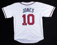 Chipper Jones Signed Jersey (PSA COA) at PristineAuction.com