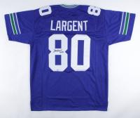"Steve Largent Signed Jersey Inscribed ""HOF '95"" (Beckett COA) at PristineAuction.com"