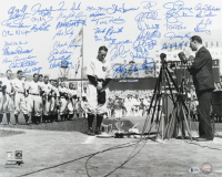 """""""Yankee Greats"""" 16x20 Photo Signed by (45) with Gaylord Perry, Moose Skowron, Otis Nixon, Barry Foote, Jim Coates, David Robertson (Beckett LOA) at PristineAuction.com"""