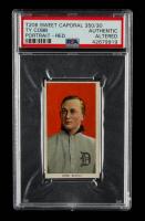 Ty Cobb 1909-11 T206 #98 Portrait Red (PSA Authentic) at PristineAuction.com