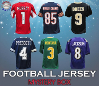 Schwartz Sports Football Jersey Signed Mystery Box - Series 35 - (Limited to 150) at PristineAuction.com