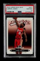 LeBron James 2003-04 Upper Deck MVP #201 RC (PSA 10) at PristineAuction.com