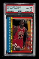 Michael Jordan 1987-88 Fleer Stickers #2 (PSA 8) at PristineAuction.com