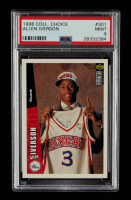 Allen Iverson 1996-97 Collector's Choice #301 RC (PSA 9) at PristineAuction.com
