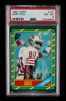 Jerry Rice 1986 Topps #161 RC (PSA 8) at PristineAuction.com