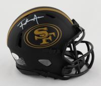 Frank Gore Signed 49ers Eclipse Alternate Speed Mini Helmet (JSA COA) at PristineAuction.com