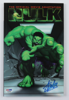 """Stan Lee Signed 2003 """"The Official Movie Adaptation Hulk"""" Issue #1 Marvel Comic Book (PSA COA) (See Description) at PristineAuction.com"""