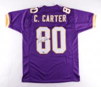 Cris Carter Signed Jersey (Schwartz COA) at PristineAuction.com
