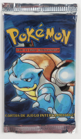 Pokemon Spanish Base Set Booster Pack with (11) Cards at PristineAuction.com