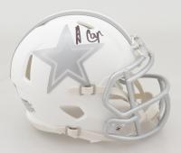 Amari Cooper Signed Cowboys White ICE Speed Mini Helmet (JSA COA) at PristineAuction.com