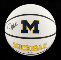 Juwan Howard Signed Michigan Wolverines Logo Basketball (Beckett Hologram) (See Description) at PristineAuction.com