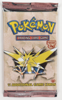 Pokemon Base Set 1st Edition Fossil Booster Pack with (11) Cards at PristineAuction.com