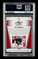 Patrick Mahomes II 2017 Leaf Special Release Draft Silver #07 (PSA 10) at PristineAuction.com