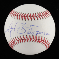 "Angel Berroa Signed OML Baseball Inscribed ""ROY 2003 AL"" (Schwatz COA) at PristineAuction.com"