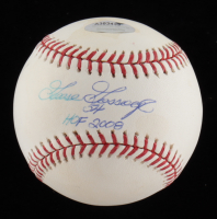 """Goose Gossage Signed OML Baseball Inscribed """"HOF 2008"""" (Schwatz COA, MLB Hologram, Steiner Hologram & Gossage Hologram) at PristineAuction.com"""