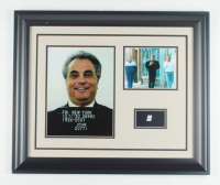 John Gotti Custom Framed 19.5x23.5 Display with (1) Hand-Written Word From Letter (JSA LOA) (See Description) at PristineAuction.com