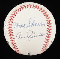 Bill Skowron, Bobby Richardson, Ryne Duren Signed OL Baseball (JSA COA) at PristineAuction.com