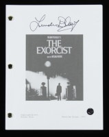 "Linda Blair Signed ""The Exorcist"" Movie Script (Legends Hologram) at PristineAuction.com"