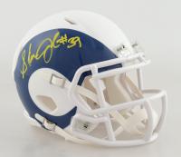 Steven Jackson Signed Rams AMP Alternate Mini Helmet (Beckett COA) at PristineAuction.com