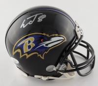 Lamar Jackson Signed Ravens Mini Helmet (JSA COA) at PristineAuction.com