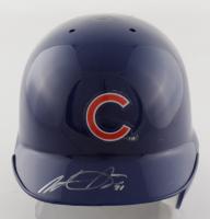 Wade Davis Signed Cubs Mini Batting Helmet (Fanatics Hologram) at PristineAuction.com