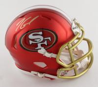 Jimmy Garoppolo Signed 49ers Blaze Speed Mini Helmet (TriStar Hologram) at PristineAuction.com