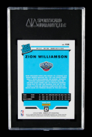 Zion Williamson 2019-20 Donruss Optic #158 RR RC (SGC 9.5) at PristineAuction.com