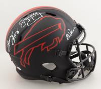 Jim Kelly, Thurman Thomas & Andre Reed Signed Bills Full-Size Eclipse Alternate Speed Helmet (JSA COA) (See Description) at PristineAuction.com