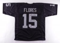 """Tom Flores Signed Jersey Inscribed """"HOF 2021"""" (JSA COA) at PristineAuction.com"""