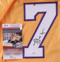 Lamar Odom Signed Jersey (JSA COA) at PristineAuction.com