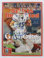 Tim Tebow Signed 2009 Sports Illustrated Magazine (Tebow COA) (See Description) at PristineAuction.com