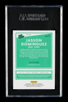 Jasson Dominguez 2020 Donruss Optic Rated Prospects Holo Prizm #11 RC (SGC 9.5) at PristineAuction.com