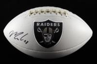 Maxx Crosby Signed Raiders Logo Football (JSA Hologram) at PristineAuction.com