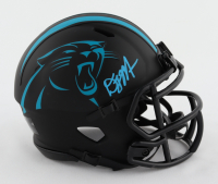 D. J. Moore Signed Panthers Eclipse Alternate Speed Mini Helmet (Beckett Hologram) at PristineAuction.com