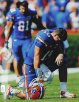 """Tim Tebow Signed Forida Gators 11x14 Photo Inscribed """"God Bless"""" (Tebow COA) at PristineAuction.com"""