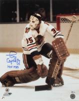 "Tony Esposito Signed Blackhawks 16x20 Photo Inscribed ""HOF 1988"" (Beckett COA) (See Description) at PristineAuction.com"