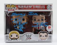 "Ted DiBiase & I.R.S. Signed ""Million Dollar Man"" (2) Pack WWE Funko Pop! Vinyl Figures Inscribed ""Money Inc."" (JSA COA) at PristineAuction.com"