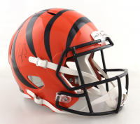 Joe Burrow Signed Bengals Full-Size Speed Helmet (Fanatics Hologram) (See Description) at PristineAuction.com