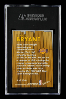 Kobe Bryant 1997-98 Z-Force Boss #3 (SGC 8.5) at PristineAuction.com
