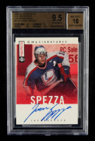 Jason Spezza 2000-01 Upper Deck CHL Prospects CHL Signatures #AJS (BGS 9.5) at PristineAuction.com