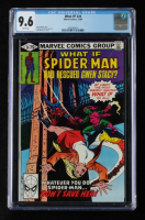 """1980 """"What If?: Spider-Man Had Rescued Gwen Stacy?"""" Issue #24 Marvel Comic Book (CGC 9.6) at PristineAuction.com"""