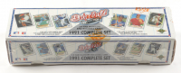 1991 Upper Deck Baseball Card Box Complete Set with (800) Baseball Cards at PristineAuction.com
