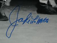 Jake LaMotta Signed 16x20 Photo (JSA Hologram) at PristineAuction.com