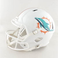 Ricky Williams Signed Dolphins Full-Size Helmet (JSA COA) (See Description) at PristineAuction.com