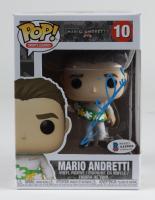 Mario Andretti Signed Mario Andretti #10 Funko Pop! Vinyl Figure (Beckett COA) at PristineAuction.com