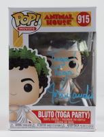 "John Landis Signed ""Animal House"" #915 Bluto (Toga Party) Funko Pop! Vinyl Figure Inscribed ""Toga! Toga!"" (Beckett COA) at PristineAuction.com"