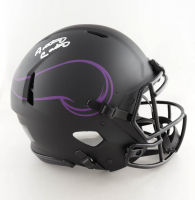 Anthony Carter Signed Vikings Full-Size Authentic On-Field Eclipse Alternate Speed Helmet (JSA COA) at PristineAuction.com
